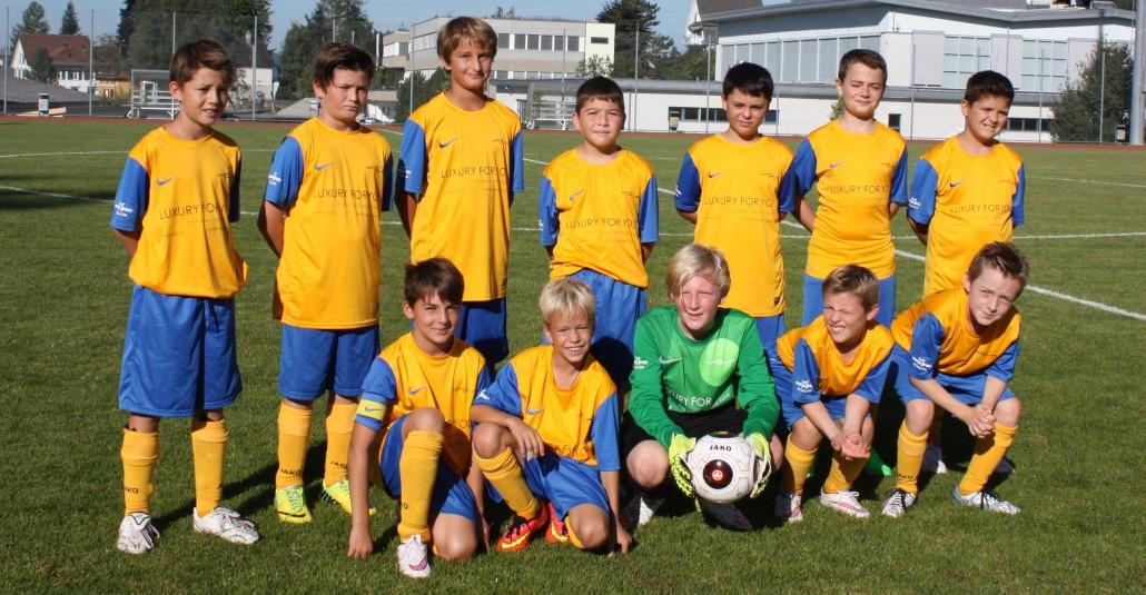Db-Junioren Mannschaftsfoto 2015